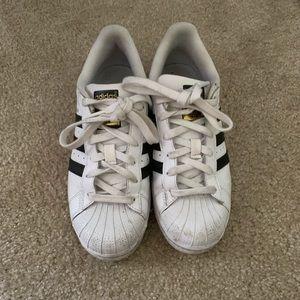Adidas Black & White Superstars